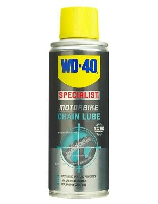 WD-40 Specialist Motorbike High Performance Spray Motorcycle Chain Lube Can