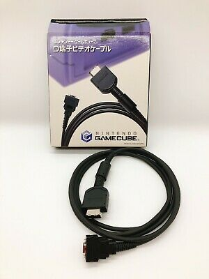 【Boxed】Nintendo GameCube D Terminal video cable Component