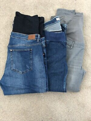 size 18 maternity jeans (3 Pairs) Over Bump And Under Bump