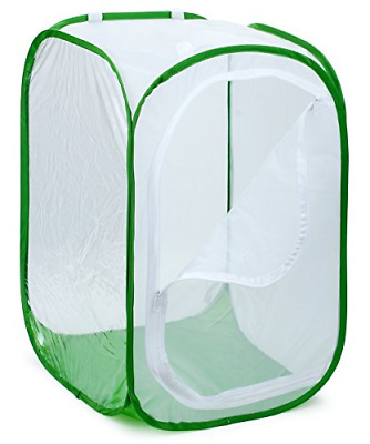 "RESTCLOUD 36"" Large Monarch Butterfly Habitat, Giant Collapsible Insect Mesh 24"