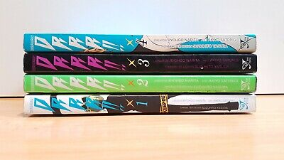 DURARARA!! DRRR!! 1-4 Manga Collection Complete Run Volumes Set ENGLISH RARE