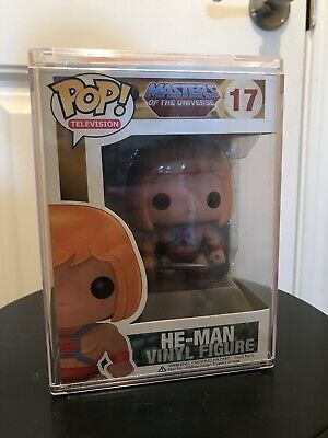 Funko POP! Television Masters of the Universe MOTU He Man 17 Vaulted Retired