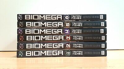 BIOMEGA TSUTOMU NIHEI 1-6 Manga Collection Complete Run Volumes Set ENGLISH RARE