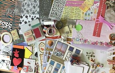 Card Making Scrapbooking Clearout , Embellishments , Backing Papers , Peel Offs
