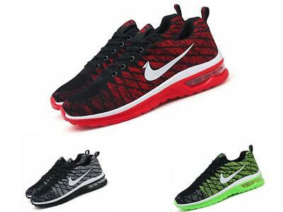 superior quality a6bf3 b289b Neu Hommes Femmes Air Max Training Gym Fitness Tapis De Course Baskets  Sneakers