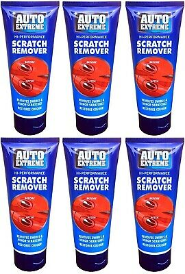 6 x Auto Extreme Scratch Remover Paste Abrasive Compound Car Polish Paste 200ml