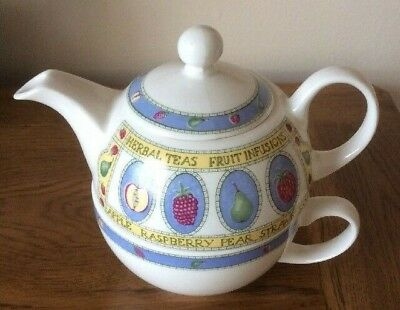 Tea For One Set by Arthur Wood & Son White
