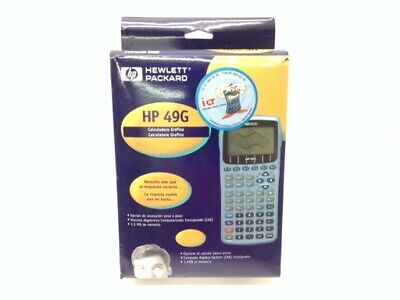 Calculadora Grafica Hewlett Packard Hp 49G 4738785