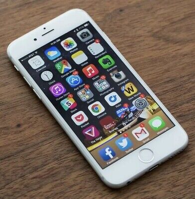 Apple iPhone 6s - 16GB - Silver - (Unlocked) -Excellent Condition