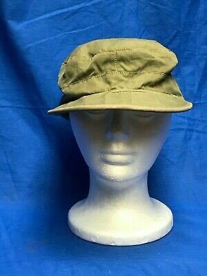 Vintage 1944 Dated WWII US Army Field Cap Hat With Ear Flaps Union Cap Co Size 7