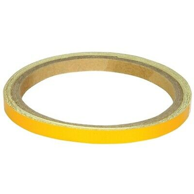 Bike It Reflective Wheel Body Stripes 7MM Motorcycle Trim Tape WST026 Gold J&S