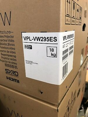 SONY 4K HDR Laser Home Theater Video Projector (VPLVW995ES