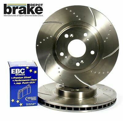 SKODA OCTAVIA 1.8T RS VRS 2001-2004 REAR VENTED 2 BRAKE DISCS AND PADS SET NEW