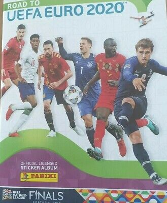 Panini Uefa Road To Euro 2020 Choose Your Stickers 242-476 Choose Your Sticker