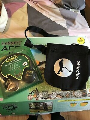 metal detecting headphones And Finds Bag Brand New Never Been Used