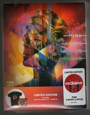 Pink: Hurts 2B Human Cd Target Exclusive Brand New Large T-Shirt