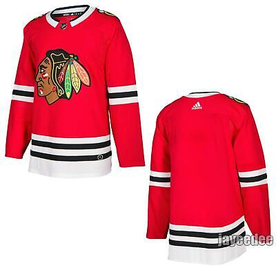 promo code b024f 94a43 CHICAGO BLACKHAWKS ADIDAS Red Home Authentic Pro Blank ...