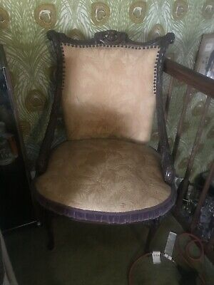 Antique Chair - Wood Carved