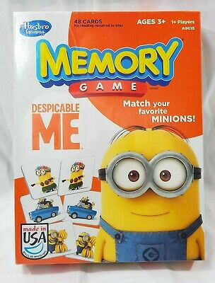 Memory Match Game Despicable Me Match Your Favorite Minions *NEW*