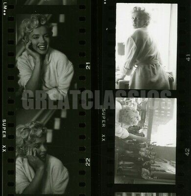 Marilyn Monroe Seven Year Itch 1955 Original Vintage Contact Sheet Photograph