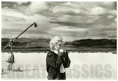 Marilyn Monroe Misfits 1960 Original Vintage Dblwt Photograph By Eve Arnold