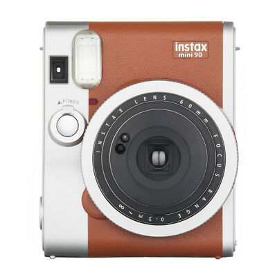 New Fujifilm Instax Mini 90 Neo Classic Instant Camera - Tan