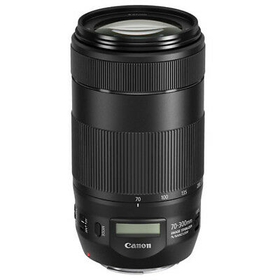 New Canon EF 70-300mm f4.0-5.6 IS USM II