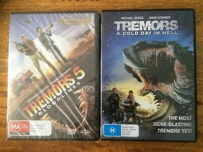 Tremors 5 & Tremors - A Cold Day In Hell, DVD'S.
