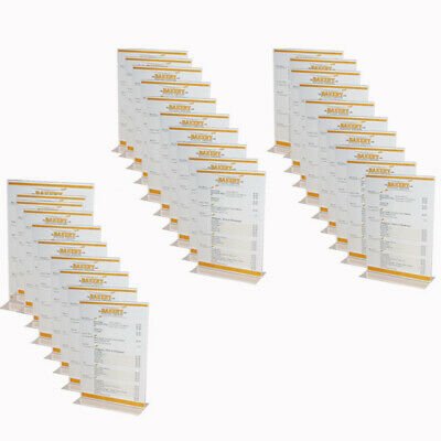 Bulk Buy Pack Of 30 A4 Acrylic Display Stands For Menus Or Signs