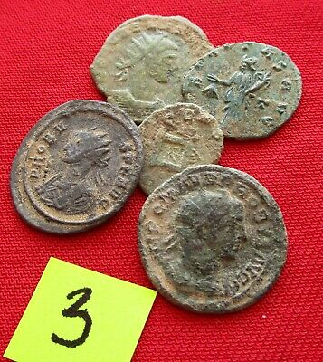 Ancient Roman coins - TOP GRADE COINS FOR CLEANING - Lot 3.