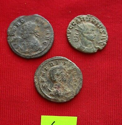 Ancient Roman coins - TOP GRADE COINS FOR CLEANING - Lot 4.