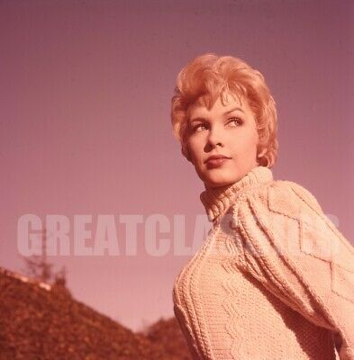 Stella Stevens 1960 Young Gorgeous 2 1/4 Camera Transparency Peter Basch