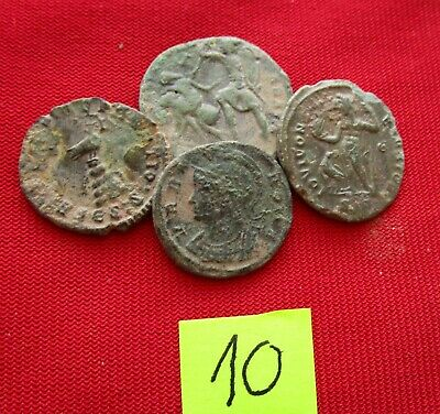 Ancient Roman coins - TOP GRADE COINS FOR CLEANING - Lot 10.
