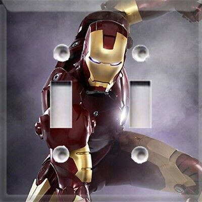 Iron Man #2 Themed Light Switch Plate Cover ~ Choose Your Cover ~