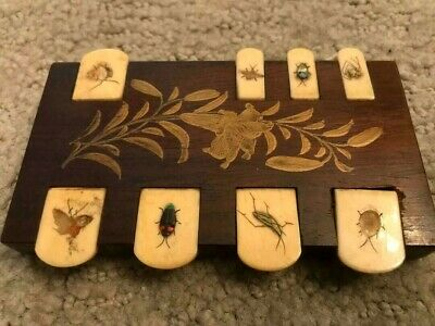 Fine Japanese Meiji Shibayama Lacquered and Inlaid Games Marker