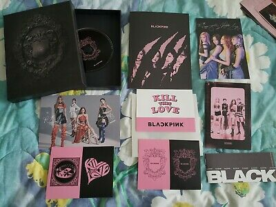 [BLACKPINK] Kill This Love 2nd Mini Album BLACK VER NO Photocard or Poster