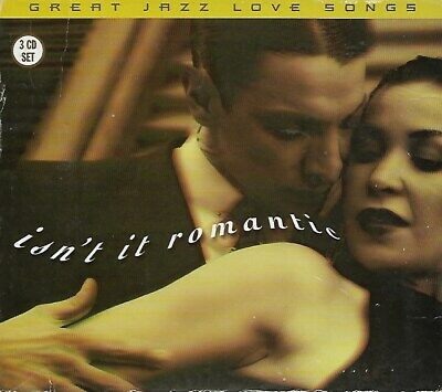 Isnt It Romantic?: Great Jazz Love Songs (CD, 3-Disc Set) w/ORIGINAL ARTISTS!