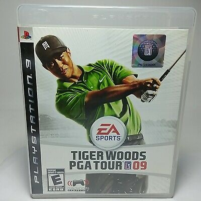 Tiger Woods PGA Tour 09 - Playstation3, PS3 Game 2008 w/ Manual, NTSC U/C By EA