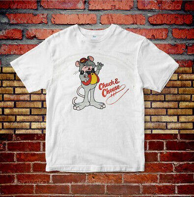 eefaacbb7 Shirt 1981 Chuck E Cheese pizza restaurant rat mouse soft Paper Thin 80s