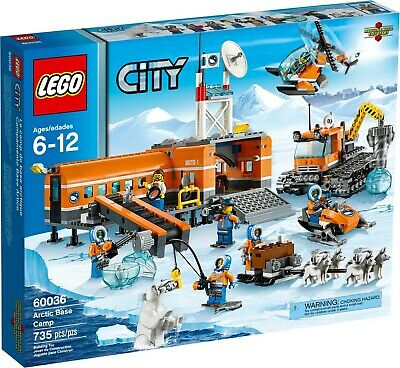 Lego 60036 City Arctic Base Camp 6-12+ New Factory Sealed