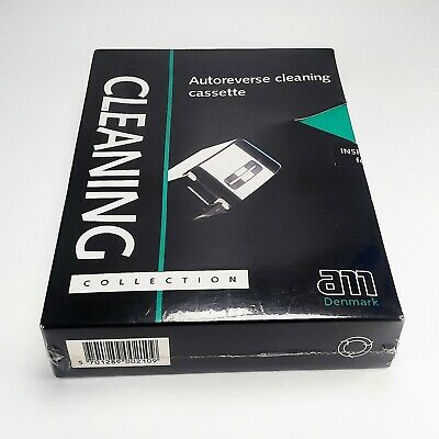 AM Autoreverse Cleaning Cassette Kit for Audio Cassette Tapes Tapeheads - New
