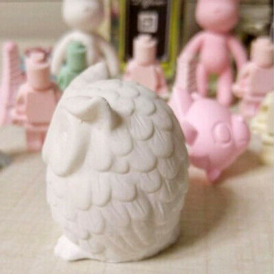 3D Owl Bird Candle Molds Soap Mold DIY Craft Resin Mould Food Grade Silicone NEW