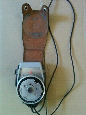 Vintage STITZ JAPAN Manual Analogue Light meter for camera with case