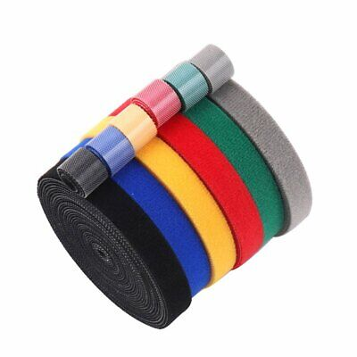 Plastic Nylon Cable Manager Winder Cable Clip Ties Belting Velcro Strap Velcro B