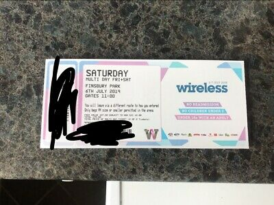 Wireless Festival 2019 Saturday Ticket ONLY!!