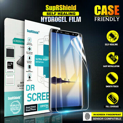 Samsung Galaxy Note 8 9 S10E SupRShield Hydrogel Full Coverage Screen Protector