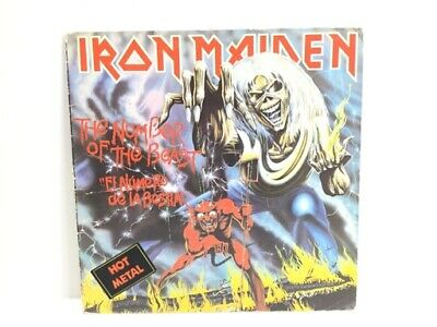 Lp Iron Maiden The Number Of The Beast 1982 Emi Vg++ Vg++ 4739141