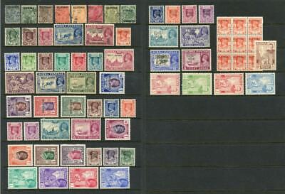 Burma. GVI Stamps Mint