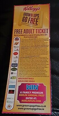 Two For One Entry To Alton Towers, Chessington, Thorpe Park Sealife + Others