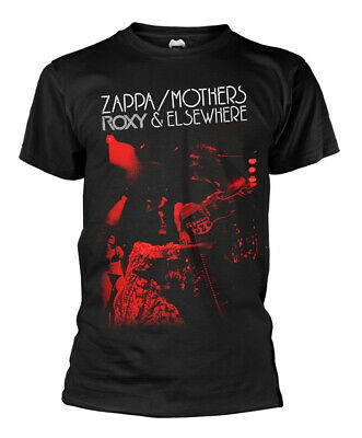 Frank Zappa 'Roxy & Elsewhere' (Black) T-Shirt - NEW & OFFICIAL!